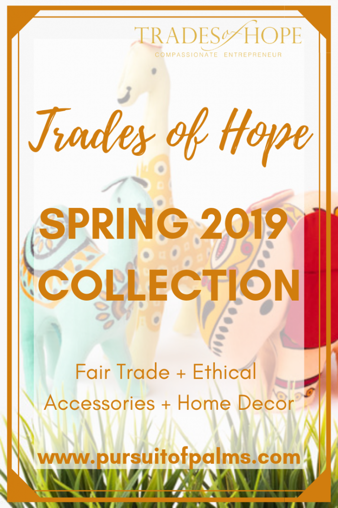 Trades of Hope Spring 2019 Collection is here! Read all about the Trades of Hope Spring Collection for 2019! Click for details on how to purchase these gorgeous Fair Trade & Ethical Christmas Decorations for yourself!