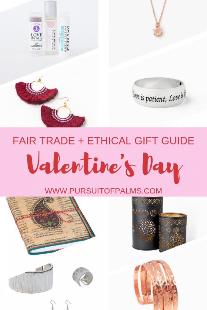 Looking for Fair Trade + Ethical gifts for your sweetheart this Valentine's Day? Check out this gift guide to make your shopping easier! #tradesofhope #valentinesday #valentinesdaygifts #jewelry #fairtrade #ethical