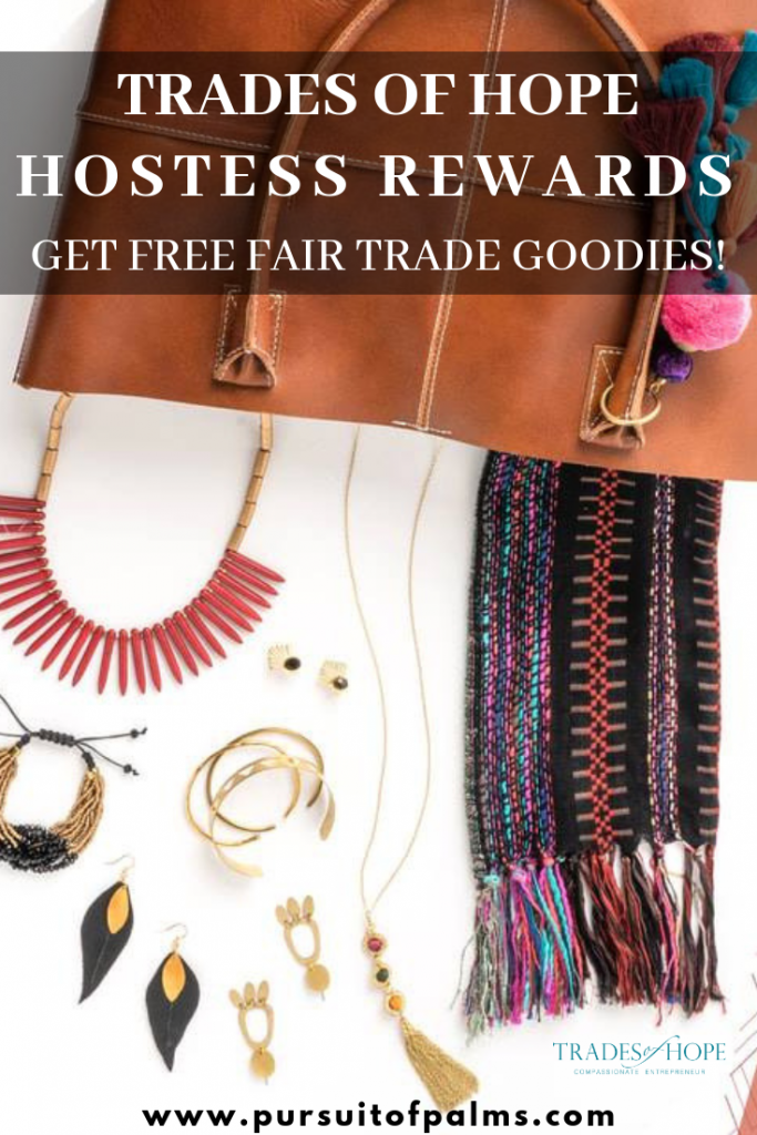 Want to know about Trades of Hope hostess rewards? Looking for details on how to earn free fair trade jewelry and home decor? Click to read all about Trades of Hope hostess rewards and how to earn without parties! Email tawnyandluke@kindredmovement.com for more information!