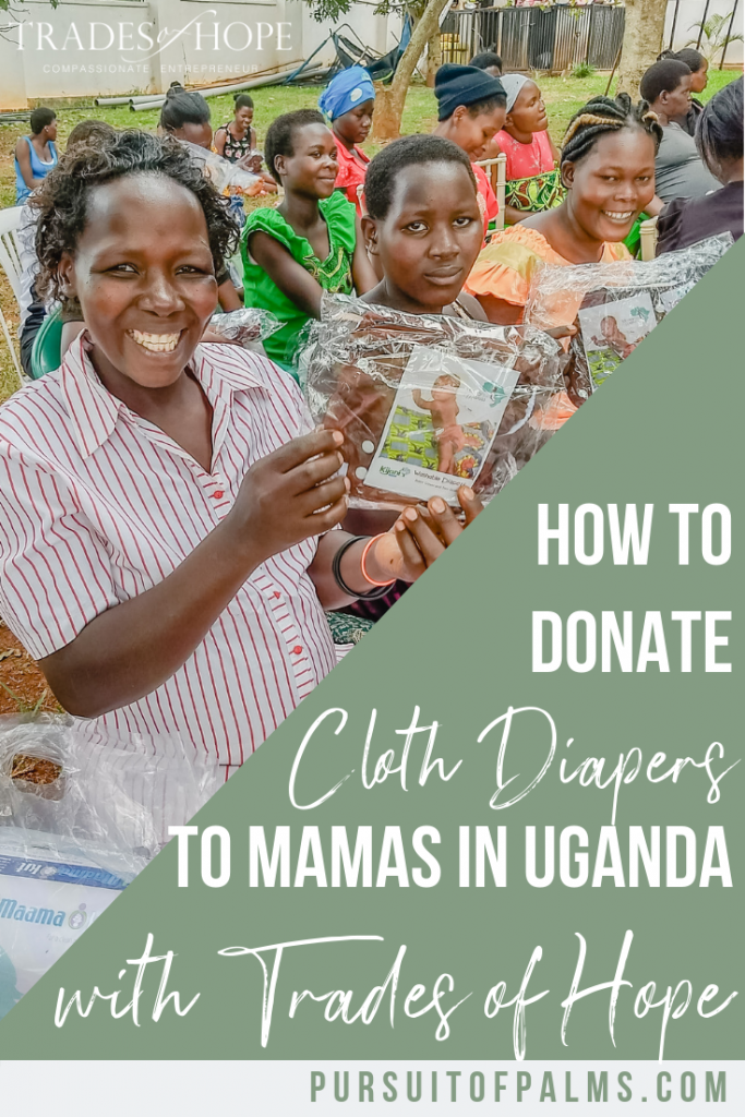 Find out how YOU can provide cloth diapers to mamas and their babies in Uganda with Trades of Hope! Start your Fair Trade business that impacts people all around the globe with Trades of Hope today! Click to read and email tawnyandluke@kindredmovement.com with any questions you may have about this incentive! #tradesofhope #directsales #fairtrade #ethical