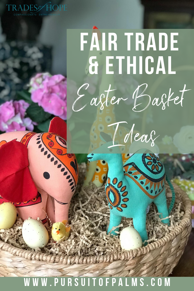 Shop for Easter with these fair trade + ethical gift ideas! Every purchase empowers women out of poverty! This blog post features my picks for Easter Gifts in 2019! Click through to read the gift guide and email me at tawnyandluke@kindredmovement.com for a FREE gift! #tradesofhope #fairtrade #ethical #directsales #easter #giftideas