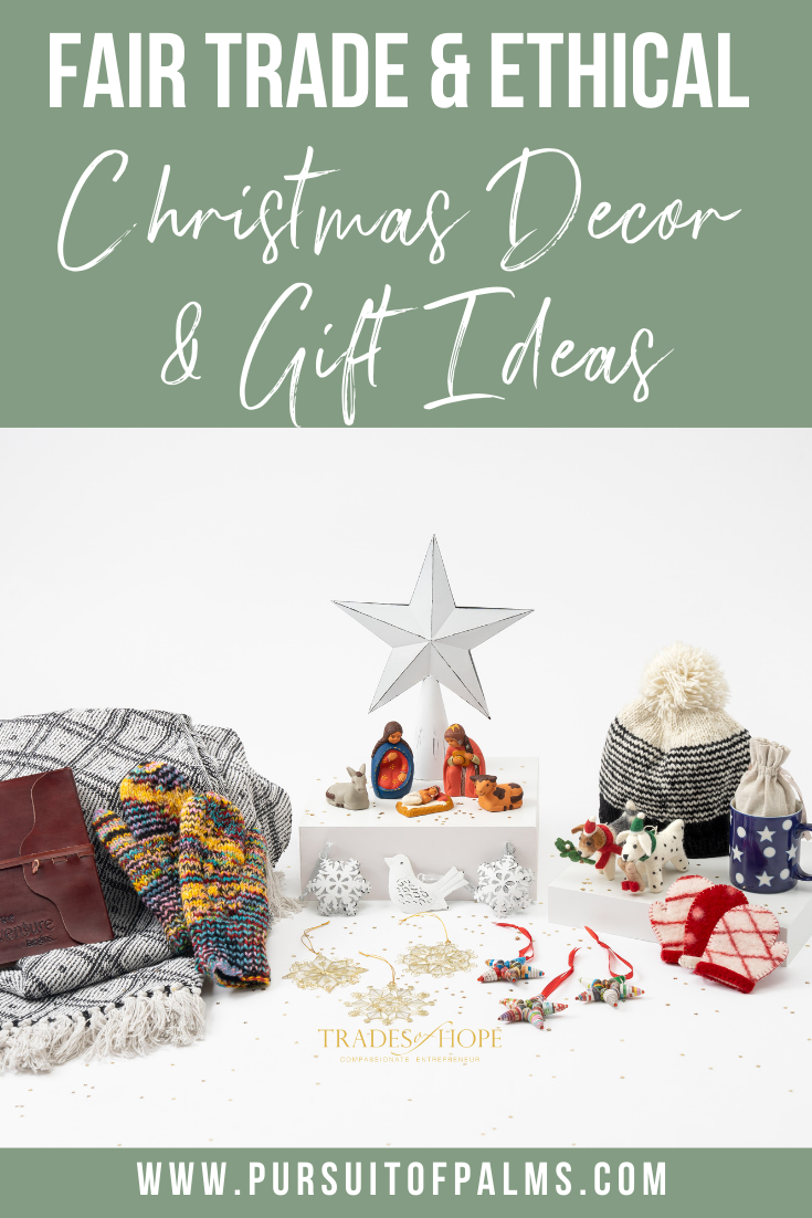 Trades of Hope Holiday 2019 Collection is here! Read all about the Trades of Hope Holiday Collection for 2019 and some of the new gifts! Click for details on how to purchase these gorgeous Fair Trade & Ethical Christmas Decorations for yourself! #fairtrade #ethical #christmas #tradesofhope #directsales