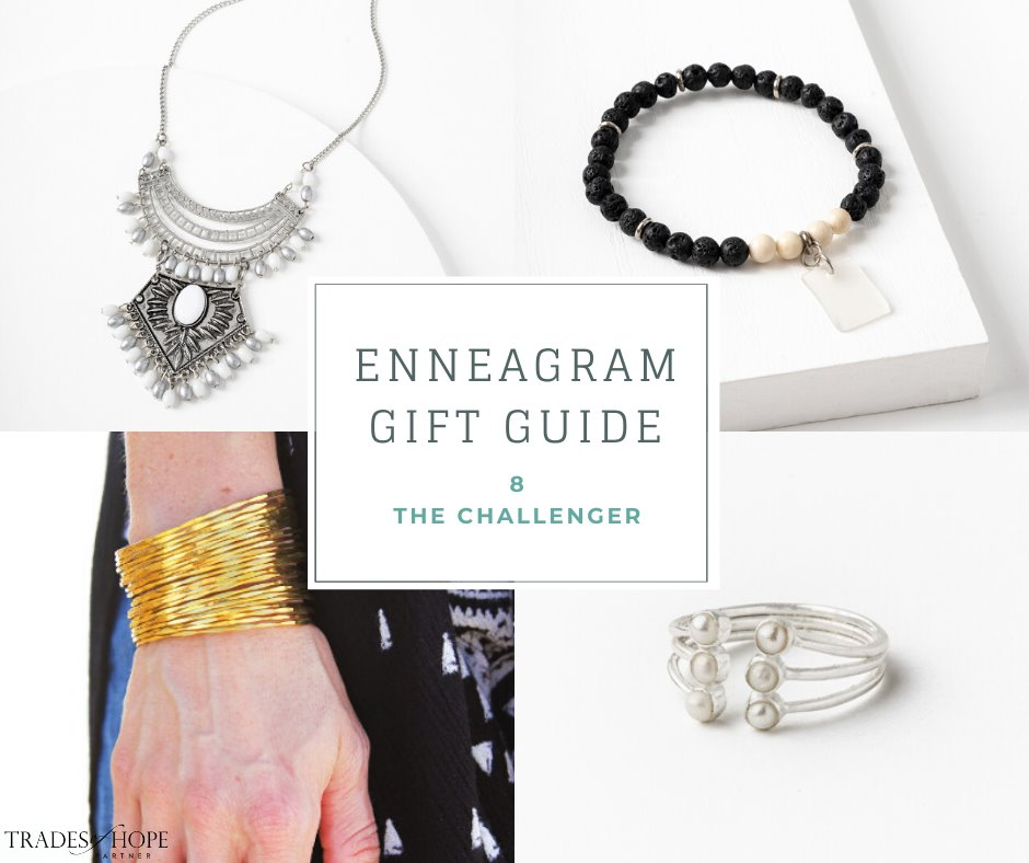 Enneagram Type 8 Fair Trade Gift Guide | Read all about the Type 2 Gift ideas! Click for details on how to purchase these gorgeous Fair Trade & Ethical Gifts for yourself! #fairtrade #ethical #giftguide #tradesofhope #directsales #enneagram
