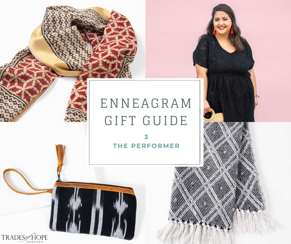 Enneagram Type 3 Fair Trade Gift Guide | Read all about the Type 3 Gift ideas! Click for details on how to purchase these gorgeous Fair Trade & Ethical Gifts for yourself! #fairtrade #ethical #giftguide #tradesofhope #directsales #enneagram