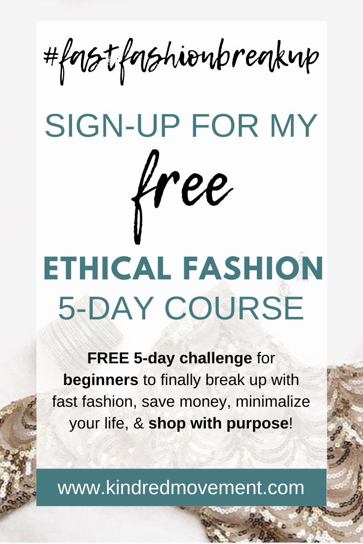 Ethical Fashion Free Email Course