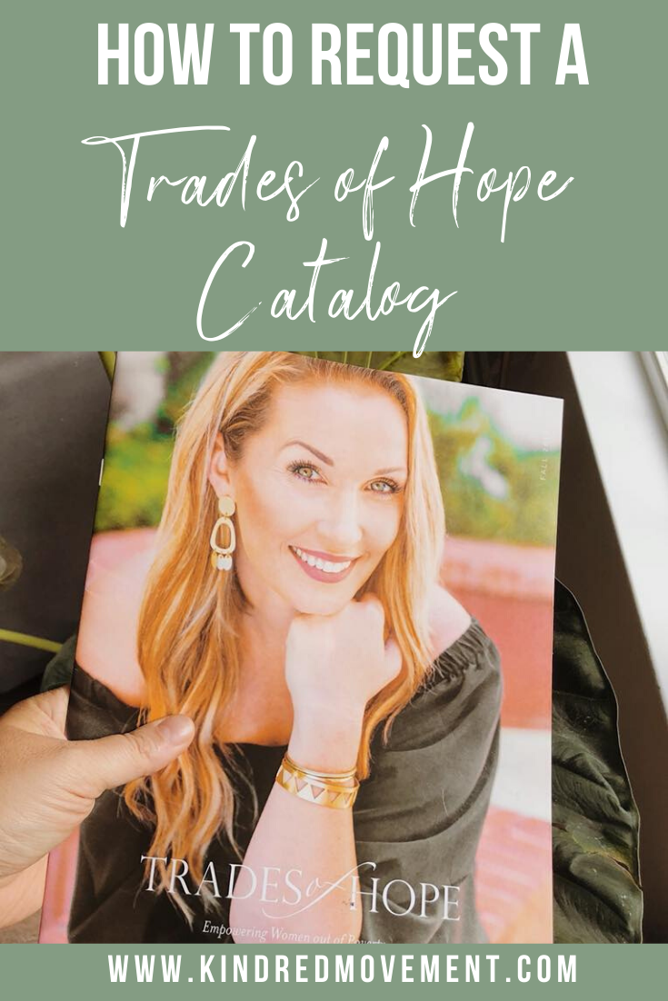 Request a Trades of Hope Catalog