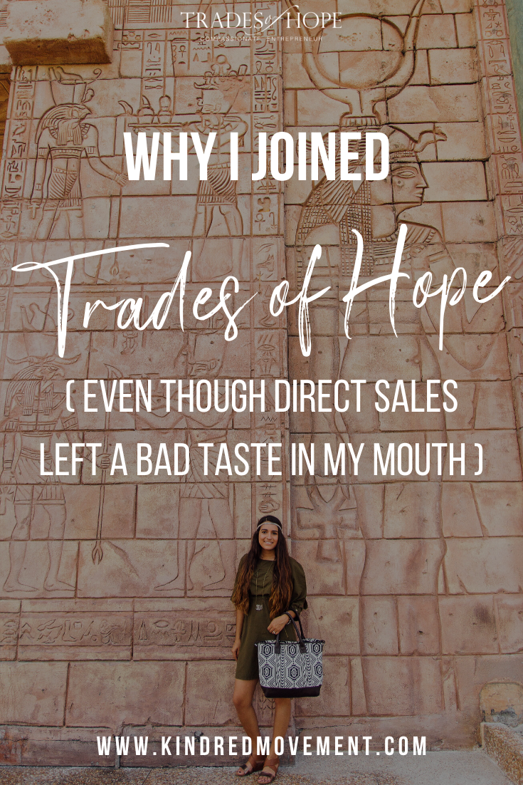 Why I Joined Trades of Hope