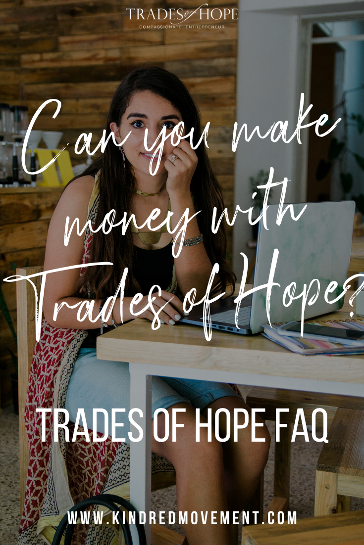 Trades of Hope FAQ Are you a new Trades of Hope Partner? Looking to join Trades of Hope? Click to read the 9 most common Trades of Hope questions and answers. #tradesofhope#workfromhome #directsales #fairtrade #ethicalfashion #jointradesofhope