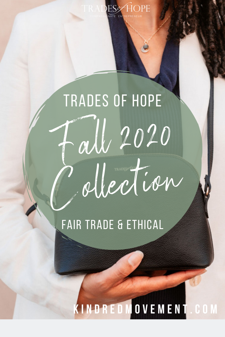 Trades of Hope Fall 2020 Collection is here! Read all about the Trades of Hope Fall Collection for 2020! Click for details on how to purchase these gorgeous Fair Trade & Ethical jewelry, accessories, and apparel pieces! #fairtrade #ethical #tradesofhope #fall