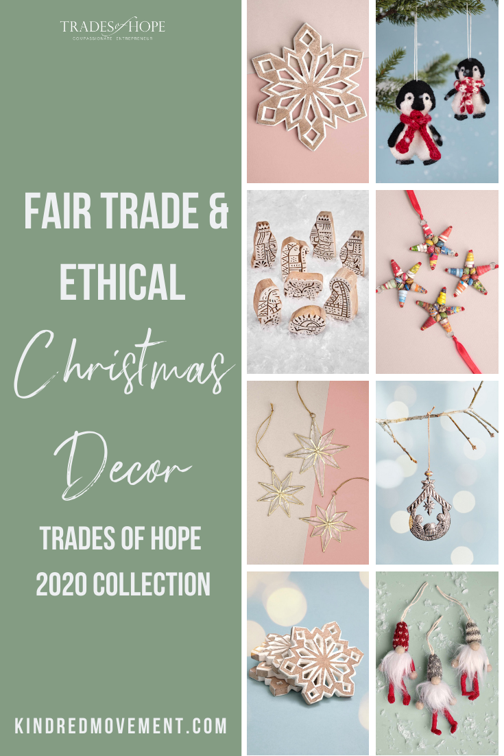 Trades of Hope Holiday 2020 Collection is here! Read all about the Trades of Hope Holiday Collection for 2020 and some of the new gifts! Click for details on how to purchase these gorgeous Fair Trade & Ethical Christmas Decorations for yourself! #fairtrade #ethical #christmas #tradesofhope #directsales