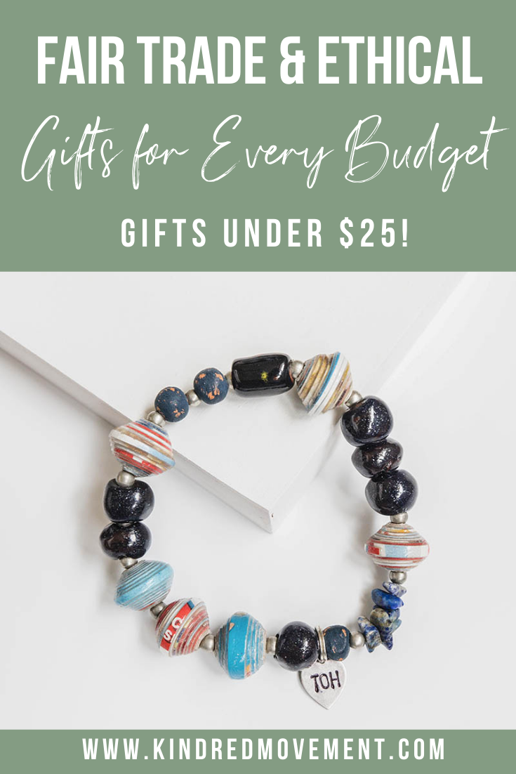 Looking to give Fair Trade & Ethical gifts to the ladies in your life, but don't want to spend a fortune? Click to check out this list of Fair Trade & Ethical Gifts for Her gifts for any budget!