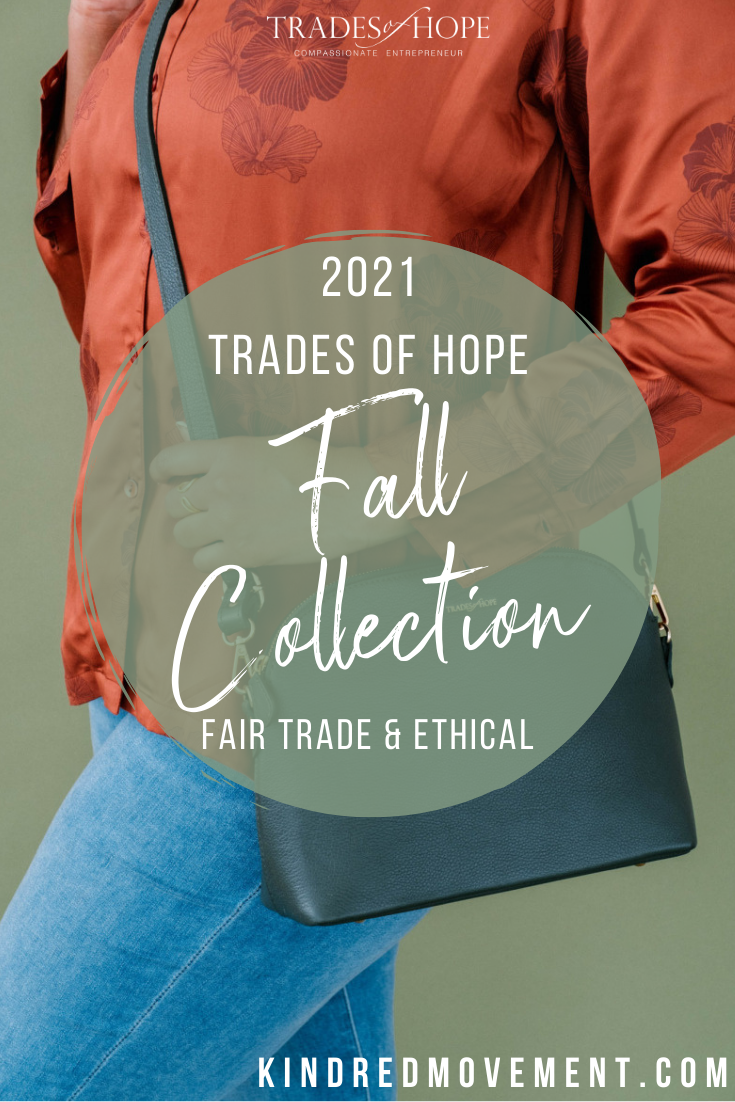 Trades of Hope Fall 2021 Collection is here! Read all about the Trades of Hope Fall Collection for 2021! Click for details on how to purchase these gorgeous Fair Trade & Ethical jewelry, accessories, and apparel pieces! #fairtrade #ethical #tradesofhope #fall