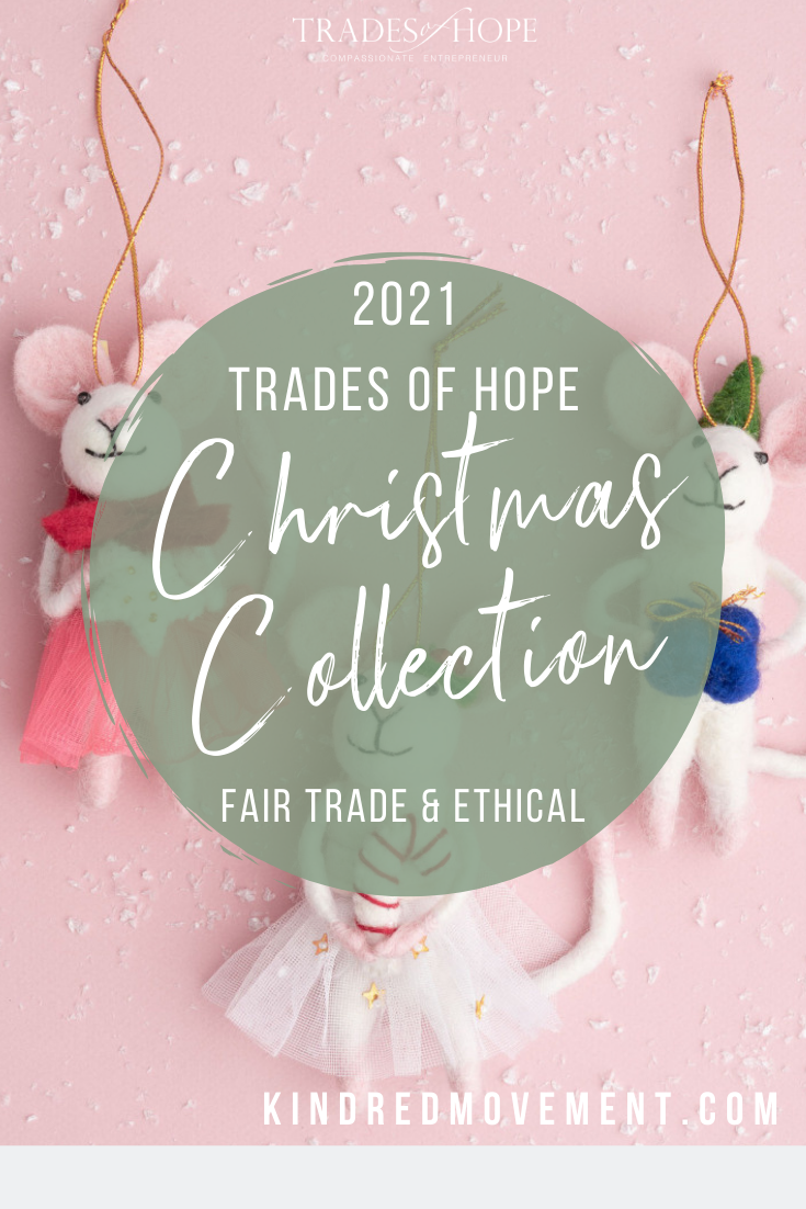 Trades of Hope Holiday 2021 Collection is here! Read all about the Trades of Hope Holiday Collection for 2021 and some of the new gifts! Click for details on how to purchase these gorgeous Fair Trade & Ethical Christmas Decorations for yourself! #fairtrade #ethical #christmas #tradesofhope #directsales